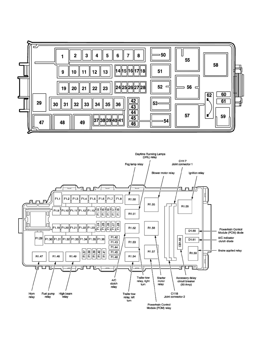2003 Lincoln Aviator Fuse Box Location 38 Wiring Diagram