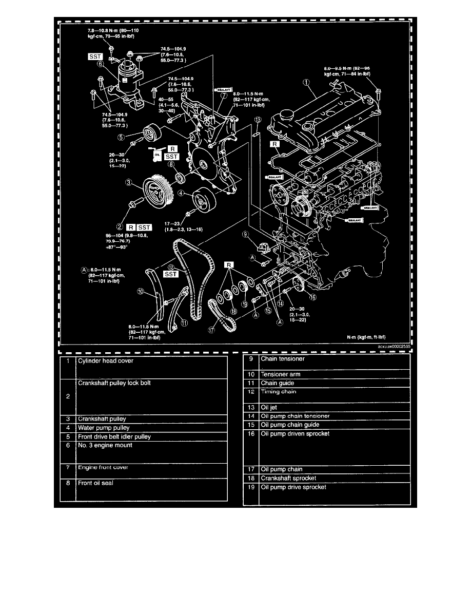 Engine, Cooling and Exhaust > Engine > Timing Components > Timing Chain >  Component Information > Technical Service Bulletins > Page 2023