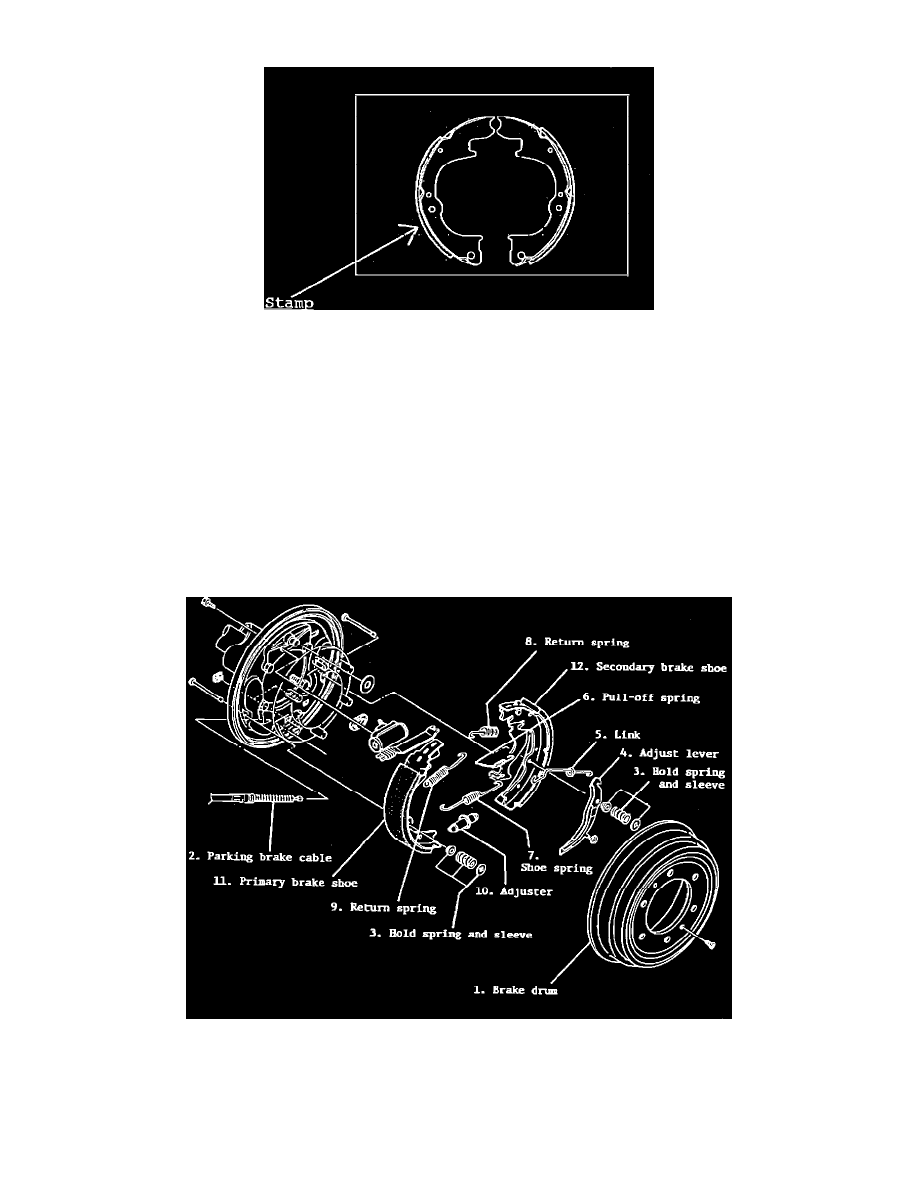 Brakes and Traction Control > Drum Brake System > Brake Shoe > Component  Information > Technical Service Bulletins > Recalls for Brake Shoe: > 42110  > Oct > ...