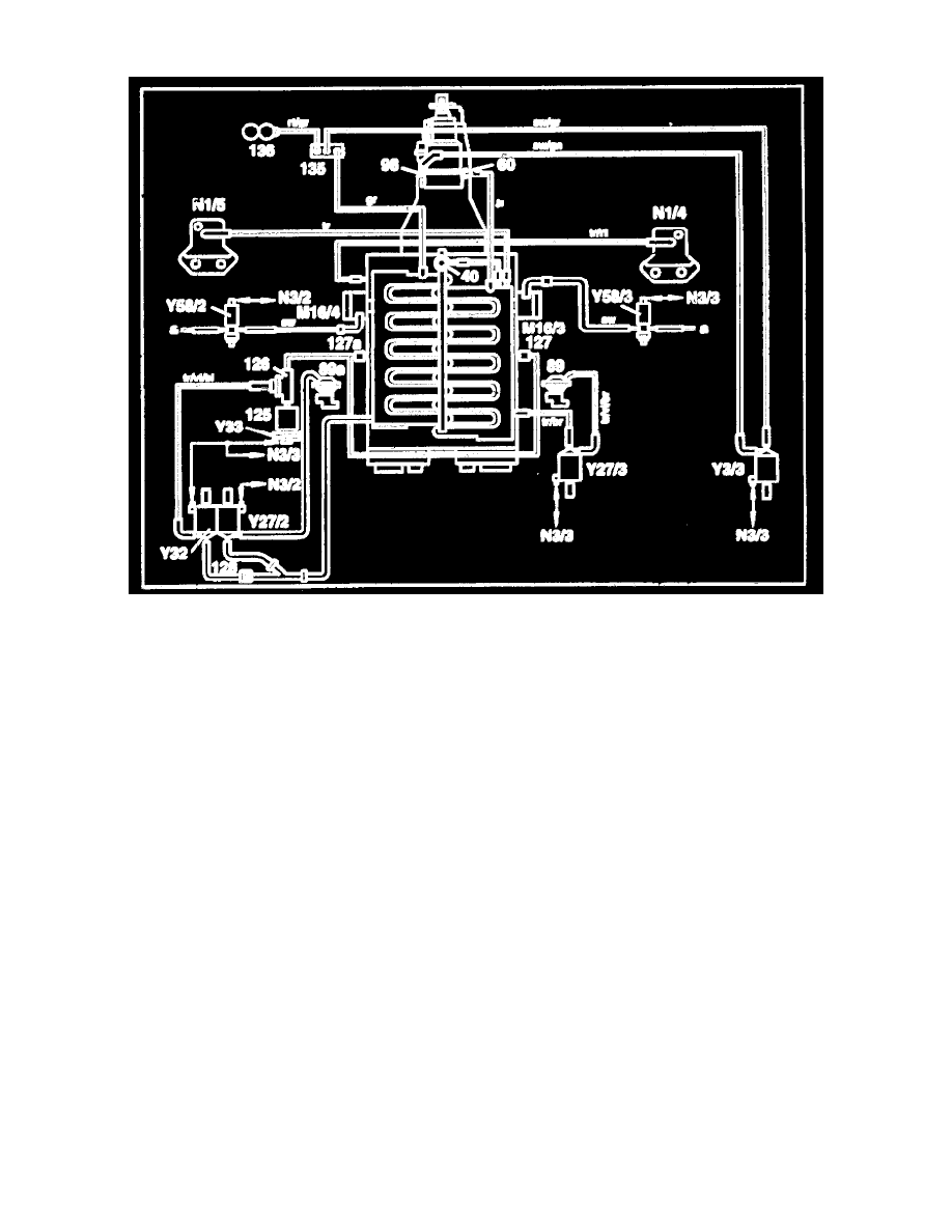 Mercedes Benz Workshop Manuals 600sel 140057 V12 60l 120980 Engine With Intake Manifold Diagram Cooling And Exhaust Component Information Diagrams