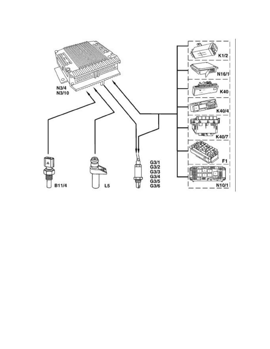 370 O2 Sensor Wiring Diagram Trusted 4 Wire Camry Mercedes Benz Workshop Manuals U003e Clk 430 208 V8 3l 113 943 02 Heater