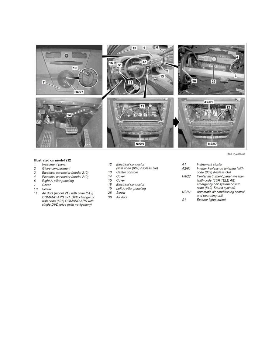 Mercedes Benz Workshop Manuals > E 550 Coupe (207.372) V8-5.5L ...