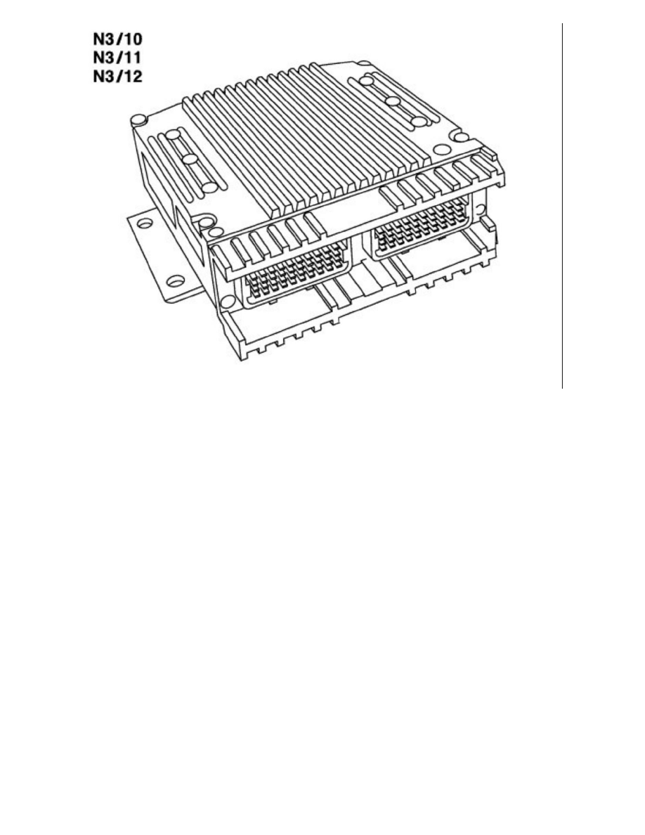 mercedes benz workshop manuals s 600 sedan 140 057 v12 6 0l Mercedes V12 Engine relays and modules relays and modules powertrain management relays and modules puters and control systems engine control module ponent
