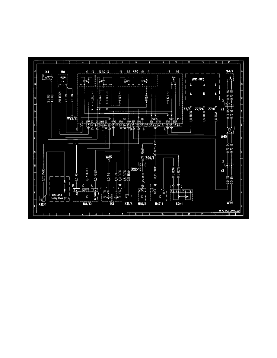 Mercedes Benz Slk 230 Wiring Diagram Library Of Diagrams 1974 Workshop Manuals U003e 170 447 L4 2 3l Sc Rh Com Power Window 600sl