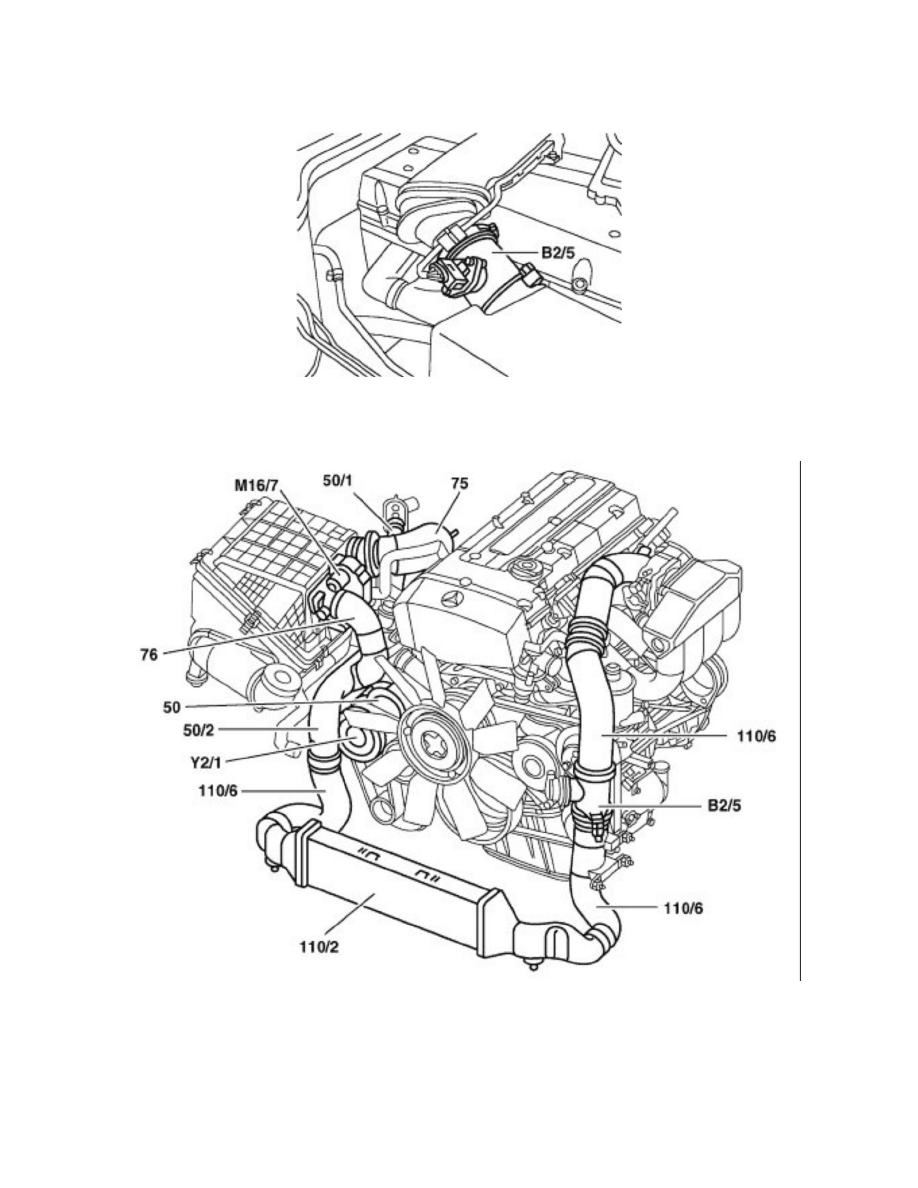 Mercedes Benz C230 Kompressor Engine Diagram 2005