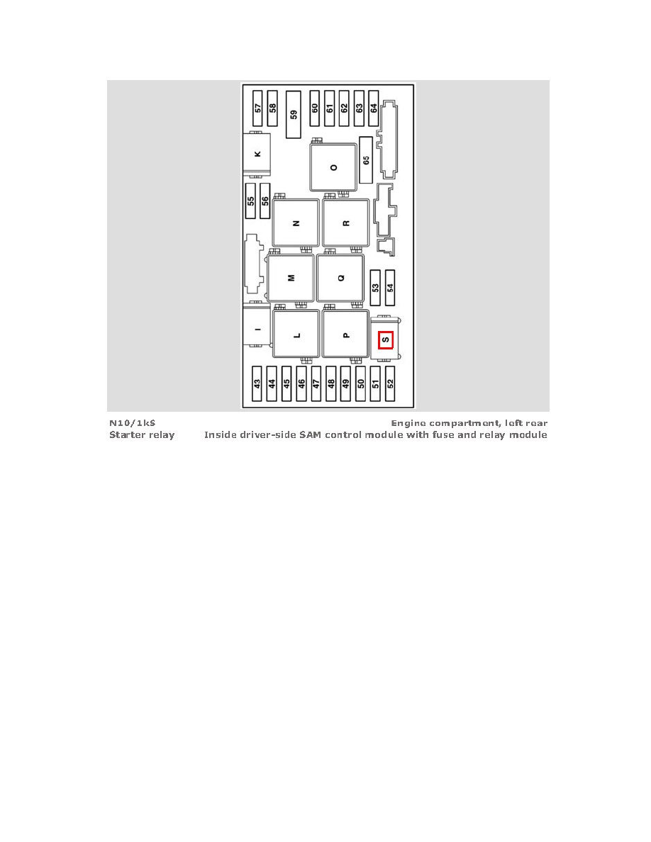 Armada Fuse Box Diagram Wiring Library 2006 Honda Civic Mercedes Benz Workshop Manuals U003e Slk 350 171 456 V6 3 5l 272 963 Rh