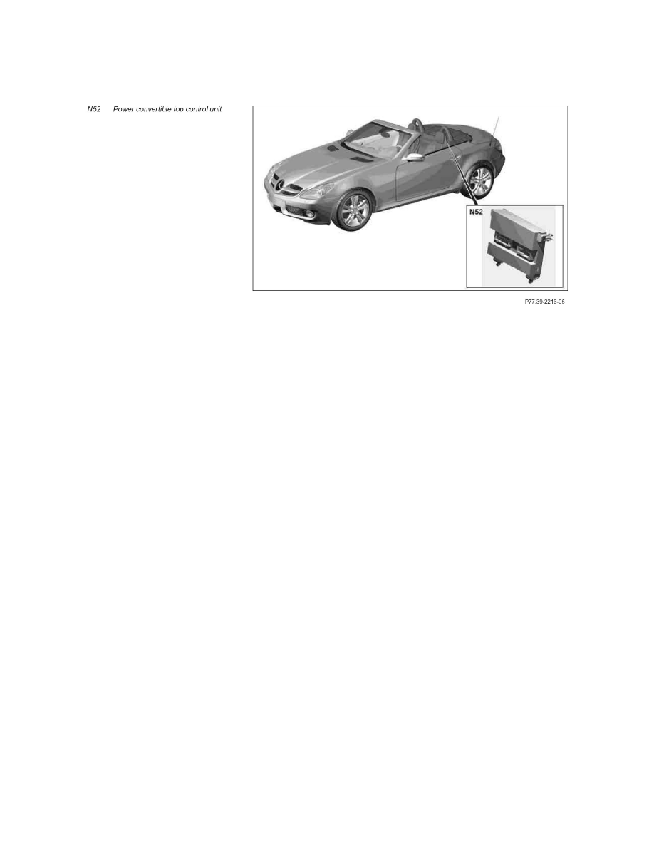 Mercedes Benz Workshop Manuals Gt Slk 350 171 458 V6 3 5l