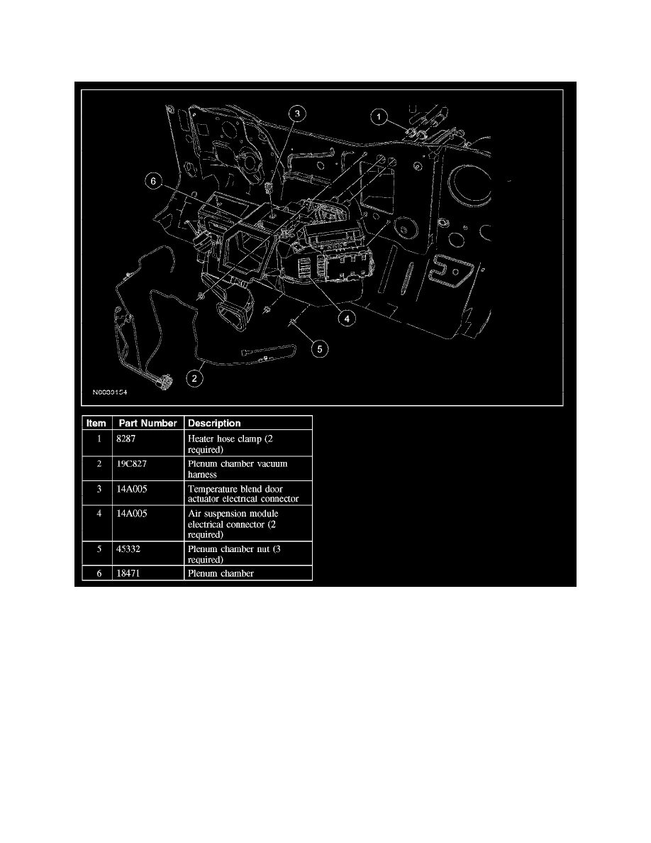 Heating and Air Conditioning > Housing Assembly HVAC > Component  Information > Service and Repair > Evaporator Core Housing > Page 5164