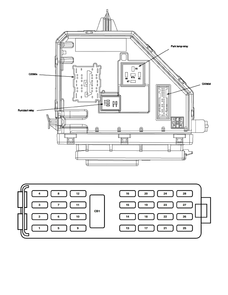 2006 Mountaineer Fuse Box Wiring Library Diagram For 06 Explorer Ford Crown Vic Relays And Modules Power Ground Distribution Relay