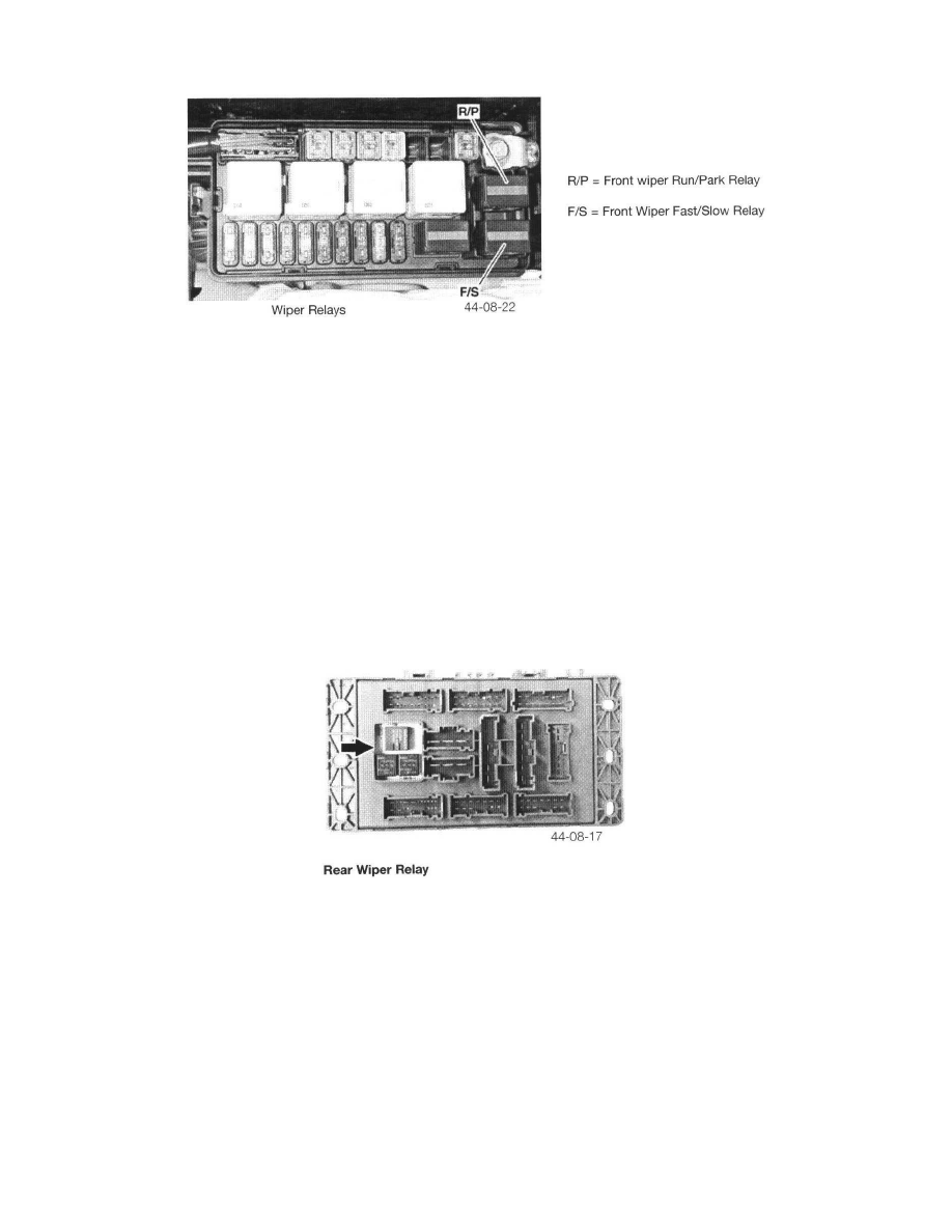 Wiper and Washer Systems > Wiper Relay > Component Information > Diagrams >  Page 16958