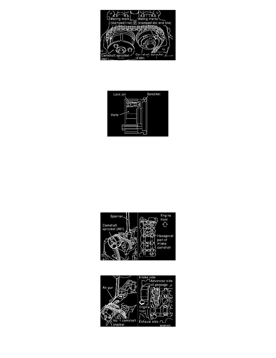 Nissan Sentra Service Manual: Camshaft