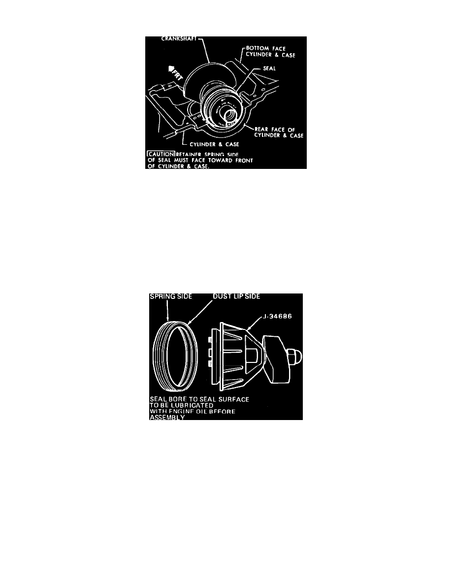 Pontiac Workshop Manuals Fiero V6 173 28l 1986 Engine Oil Pan Background Image