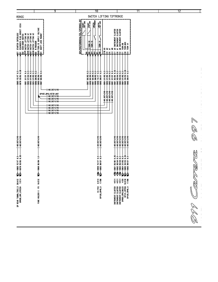Porsche 997 Engine Diagram Transmission Trusted Wiring Diagrams Workshop Manuals U003e 911 Carrera S Cabriolet F6 3 8l