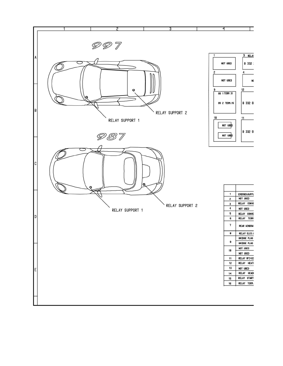 Porsche Boxster Fuse Box Location Detailed Schematics Diagram Corolla Workshop Manuals U003e S 987 F6 3 2l 2005 Speedometer