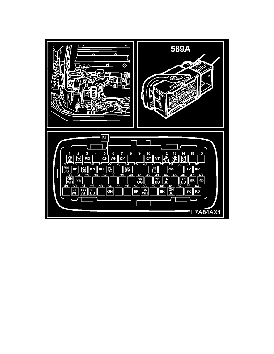 Saab Workshop Manuals 9 3 9440 L4 20l Turbo 2007 Powertrain Engine Diagram Management Computers And Control Systems Module Component Information Diagrams Trionic Switch A 589a