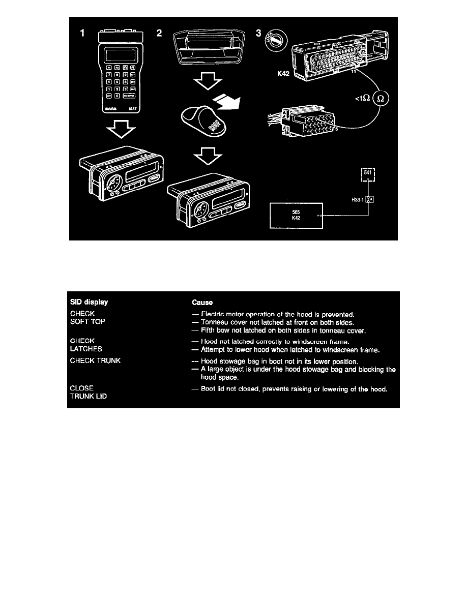 Accessories and Optional Equipment > Trip Computer > Component Information  > Description and Operation > Saab Information Display (SID) > Page 6304
