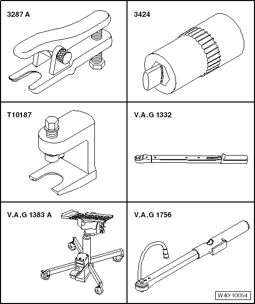 Gear Puller To Remove Ball Joint : Seat work manuals gt leon mk running gear