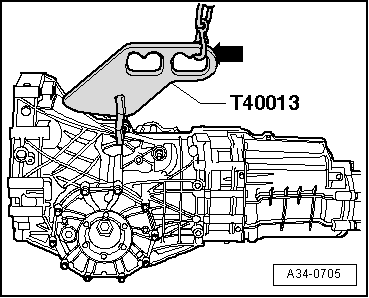 Securing_gearbox_to_assembly_stand