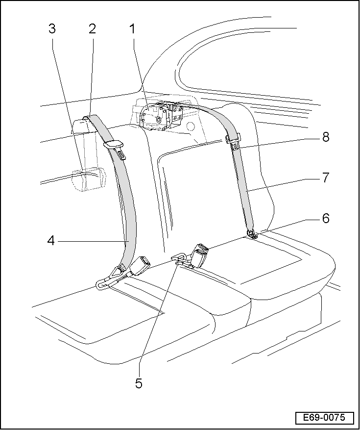 Rear Seat Diagram