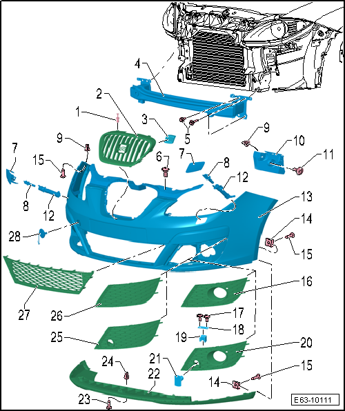 seat workshop manuals u003e leon mk2 u003e body u003e body exterior assembly rh workshop manuals com seat altea workshop manual pdf seat altea workshop manual pdf