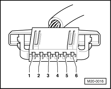 Testing  accelerator pedal position sender g79 on wiring diagram for plug and switch