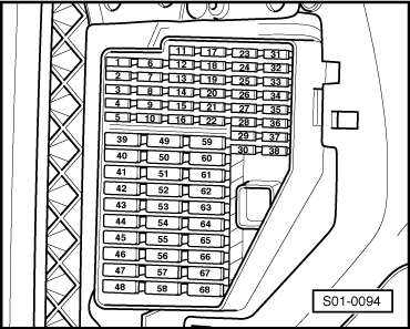 fabia mk1 1623 skoda workshop manuals \u003e fabia mk1 \u003e drive unit \u003e 1 0 37; 1 4 44 skoda fabia fuse box layout diagram at mifinder.co