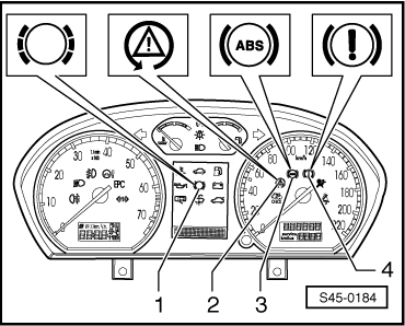 test skoda fabia with Safety Precautions Basic Information On Fault Finding And On Repairing on Test  brake light switch f  and  brake pedal switch f47 additionally Removing and installing the control motor of temperature flapv68 also Safety precautions basic information on fault finding and on repairing additionally Testing unit injector valve furthermore Skoda Octavia Engine Diagrams.