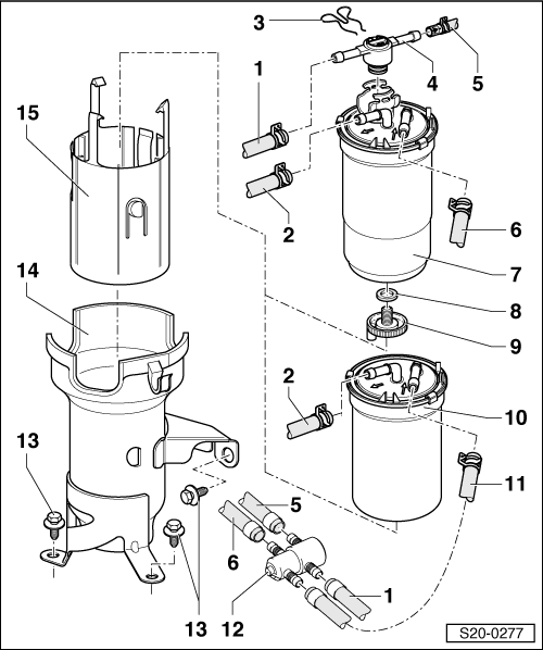 fuel filter flow - wiring diagrams image free