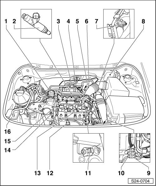 Skoda Workshop Manuals  U0026gt  Fabia Mk2  U0026gt  Drive Unit  U0026gt  1 2  47 Kw  1 2  51 Kw Engine  U0026gt  Mixture