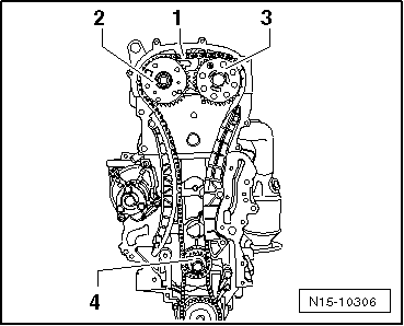 Removing_and_installing_timing_chain_and_drive_chain_for_cylinder_head_version_a
