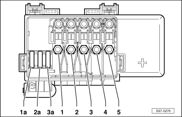 octavia mk1 1064 skoda workshop manuals \u003e octavia mk1 \u003e electrical system electrical fuse box diagram at webbmarketing.co