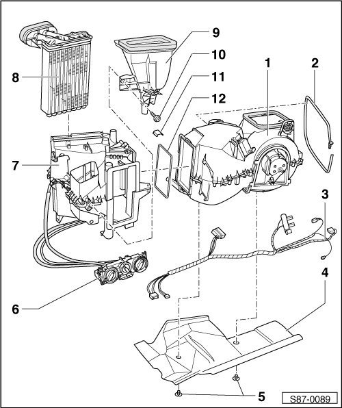 octavia mk1 1446 skoda workshop manuals \u003e octavia mk1 \u003e heating, air conditioning skoda octavia wiring schematic at reclaimingppi.co