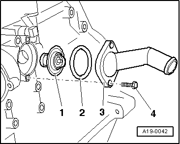 audi engine coolant with Removing And Installing Testing Coolant Thermostat on Removing and installing pre Wiring for unit injectors and glow plugs for engine with engine identification characters bkd azv furthermore Sensor Locations Ford Fusion 2013 as well Discussion T521 ds47005 together with Audi A4 Quattro Wiring Diagram Electrical Circuit furthermore 7oaag Volkswagen Passat 2 0t Timing.