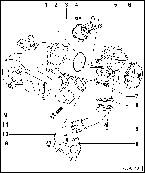 Skoda Workshop Manuals  U0026gt  Octavia Mk1  U0026gt  Drive Unit  U0026gt  1 9 L