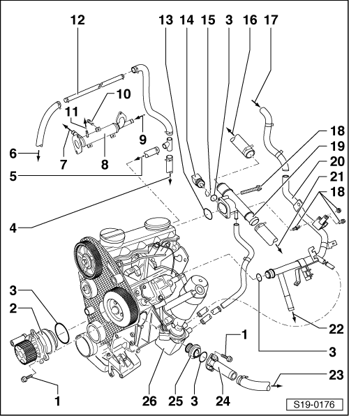 tdi engine diagram - wiring diagrams image free