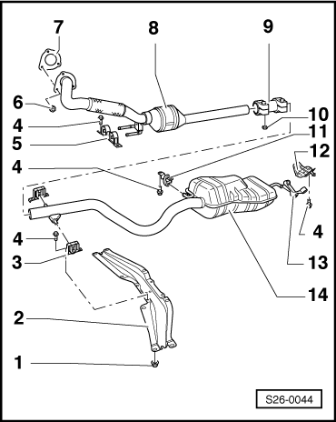 Removing_and_installing_parts_of_the_exhaust_system