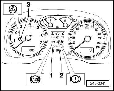 33 and k155 as well  on brake system warning light means
