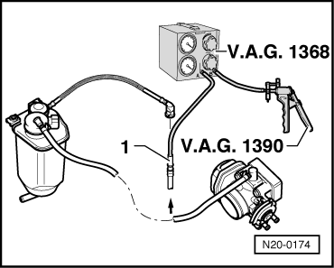 skoda vacuum diagram with Checking The Fuel Tank Venting on Volkswagen Passat B5 Fl 2000 2005 Fuse Box Diagram additionally Skoda Octavia 1 9 Tdi Wiring Diagram likewise Traction Control System Tcs as well Checking the fuel tank venting moreover Mk1 Golf Gti Fuse Box Wiring Diagram.