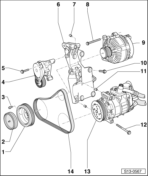 Skoda Fabia Alternator Wiring Diagram