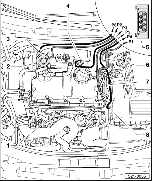 skoda workshop manuals u003e octavia mk2 u003e drive unit u003e 1 9 77 kw tdi pd rh workshop manuals com skoda rapid engine diagram skoda yeti engine diagram