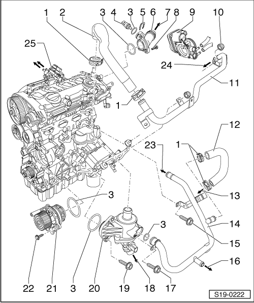 1998 volkswagen jetta oil filter diagram html