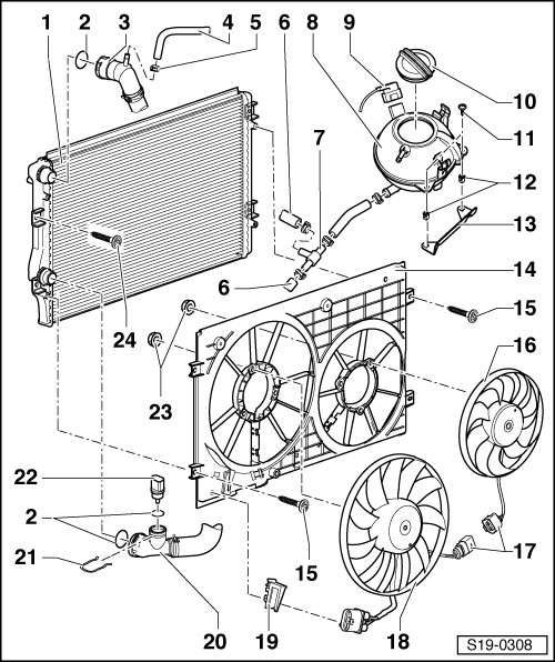 Skoda Octavia Cooling Fan Wiring Diagram
