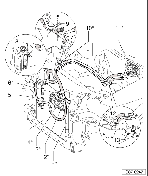 skoda workshop manuals u003e octavia mk2 u003e heating ventilation air rh workshop manuals com AC Electrical Wiring Diagrams Coleman AC Wiring Diagram