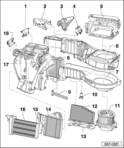 skoda workshop manuals u003e yeti u003e heating ventilation air rh workshop manuals com skoda yeti workshop manual pdf skoda yeti service manual
