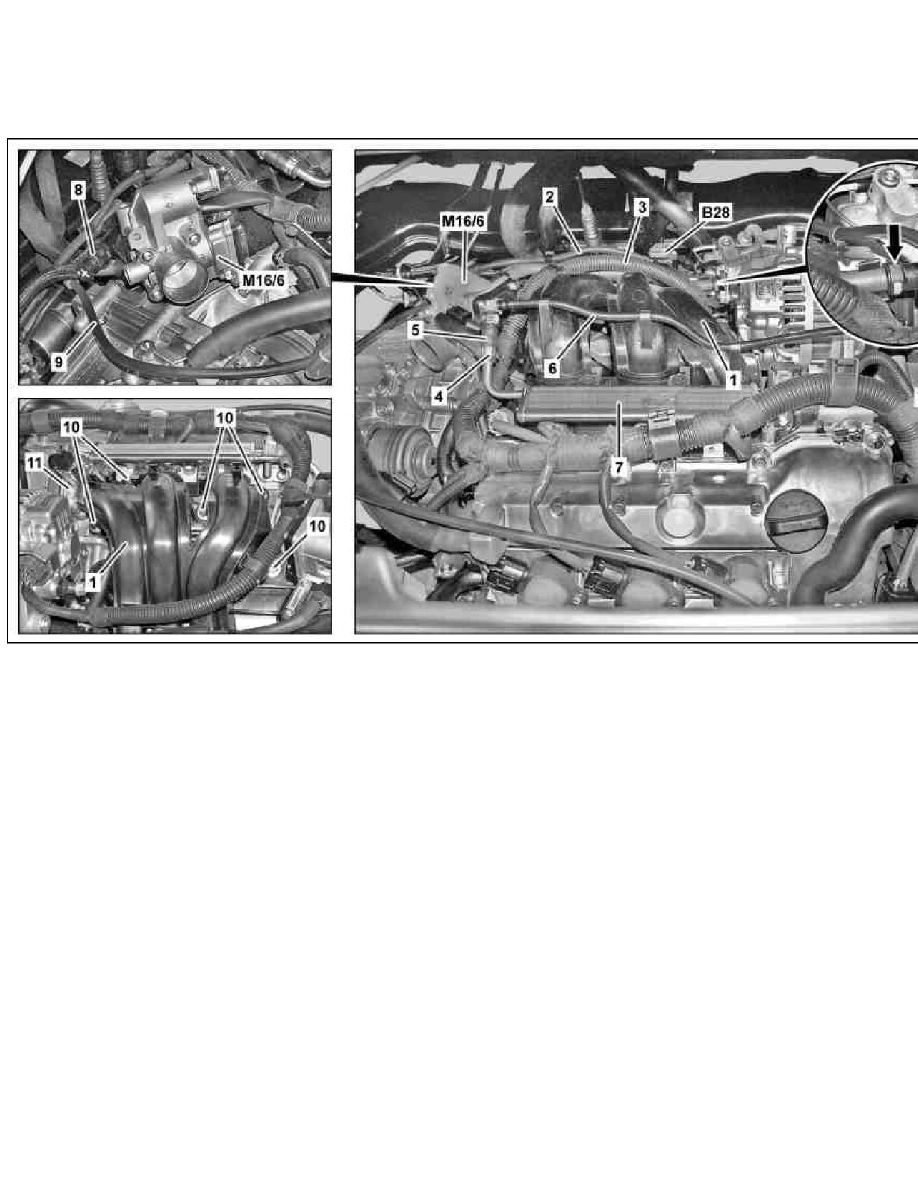 Engine, Cooling and Exhaust > Engine > Intake Manifold > Component  Information > Service and Repair > AR09.20-P-0010MCU Remove/Install  Resonance Chamber > ...