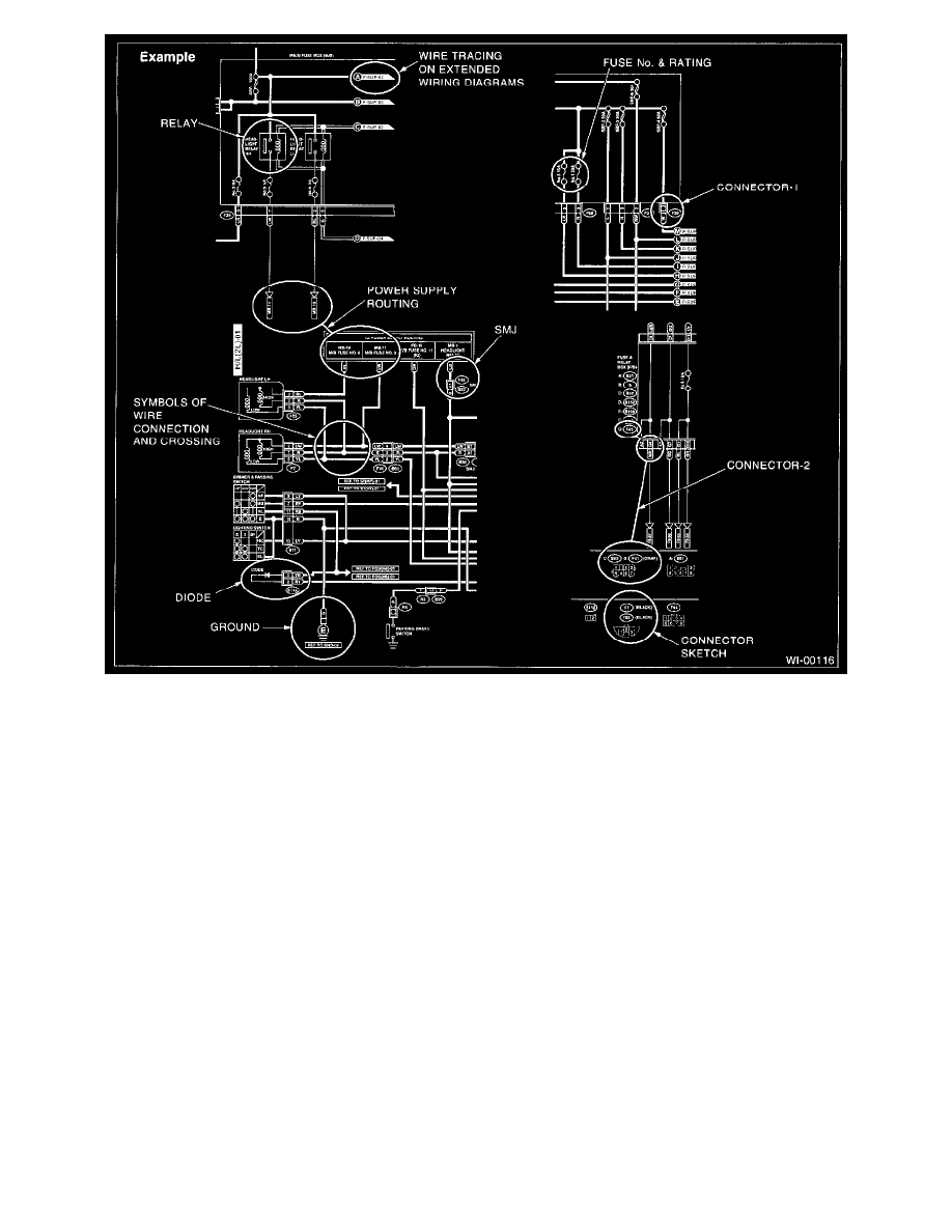 subaru workshop manuals > baja f4 2 5l sohc 2003 > lighting and lighting and horns > trailer lamps > component information > diagrams > diagram information and instructions > page 4847