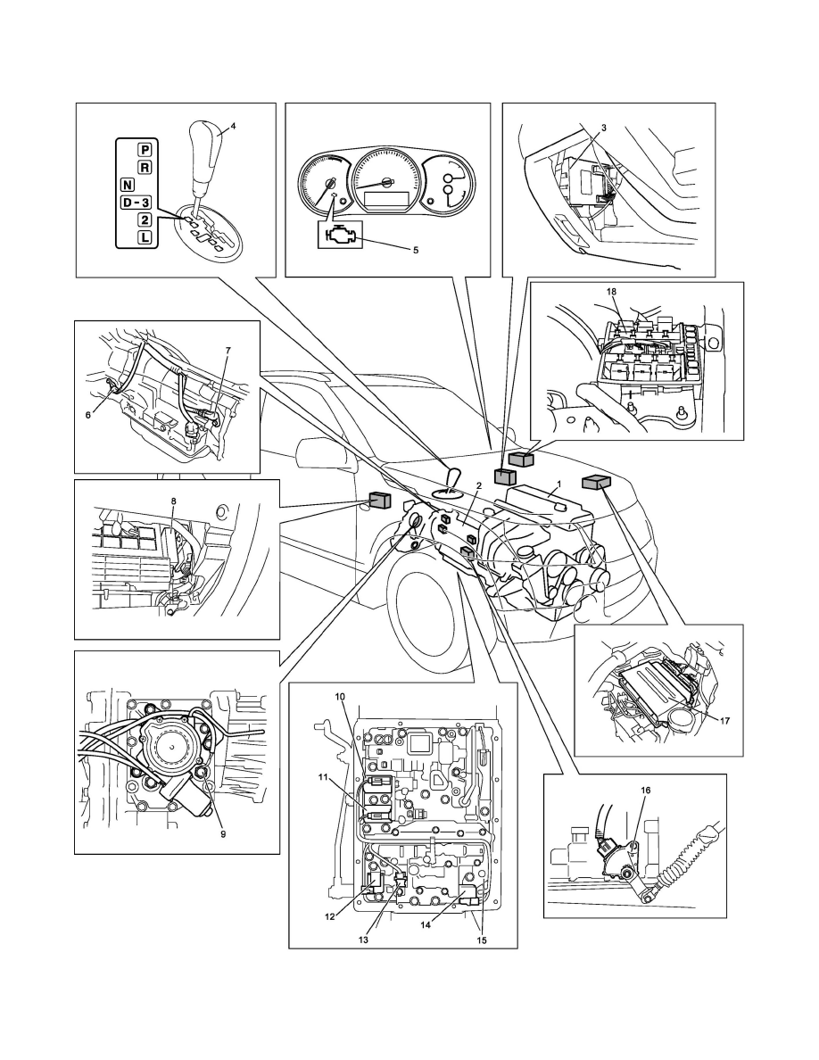 suzuki workshop manuals u003e grand vitara 4wd l4 2 4l 2009 rh workshop manuals com Ford Automatic Transmission Repair Manual Honda Automatic Transmission Repair Manual
