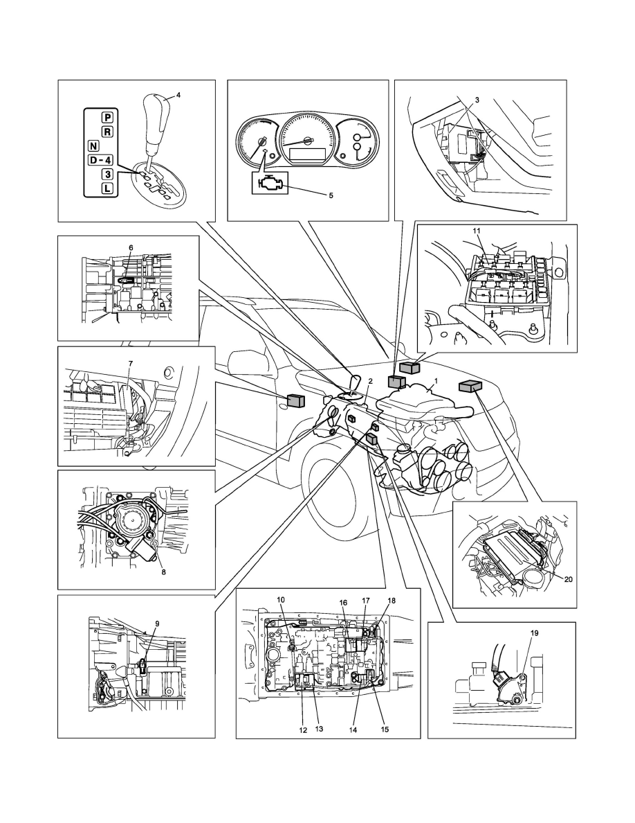 suzuki workshop manuals u003e grand vitara 4wd l4 2 4l 2009 rh workshop manuals com Honda Automatic Transmission Repair Manual Datsun Automatic Transmission