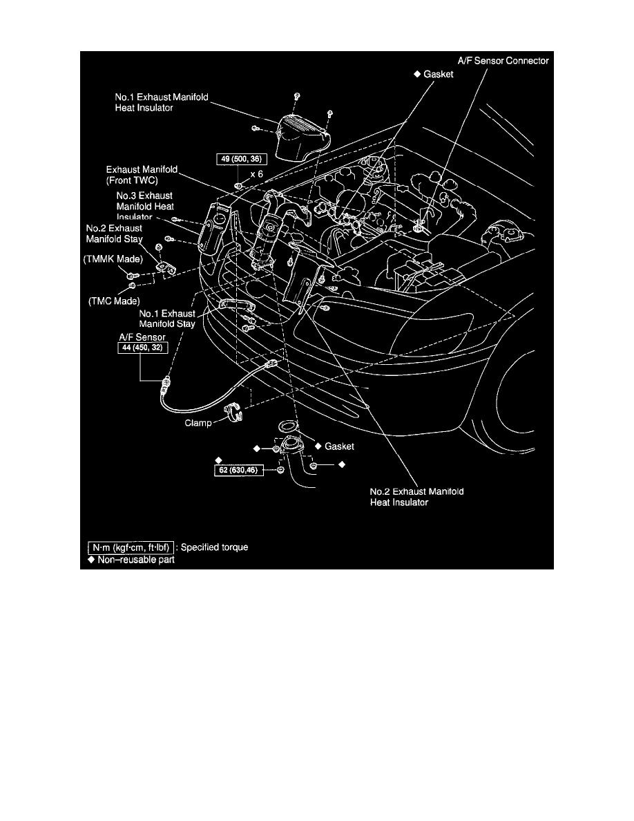 Toyota Workshop Manuals  U0026gt  Camry Ce Sedan L4