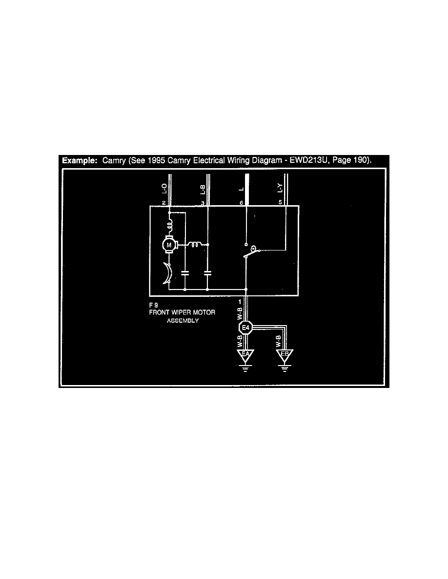 1986 Camry Wiring Diagram System